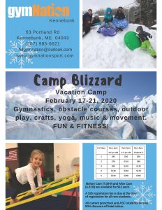 Camp Blizzard Kennebunk @ gymNation Kennebunk | Kennebunk | Maine | United States