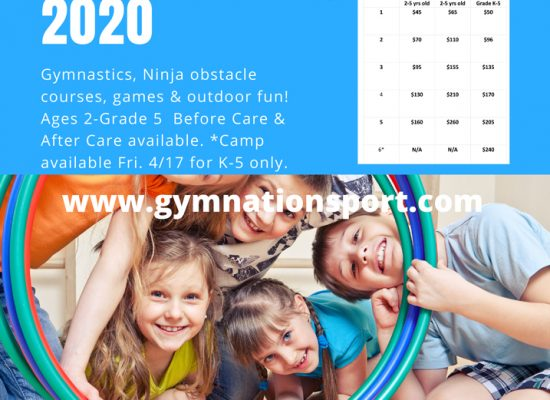 Camp gymNation Saco 2020