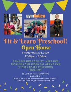 Fit & Learn Open House @ gymNation Saco | Saco | Maine | United States