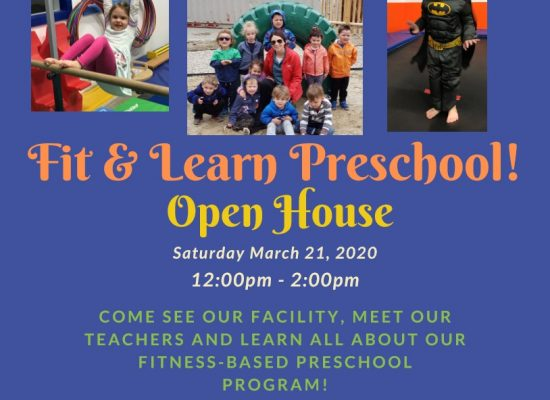 Fit & Learn Open House