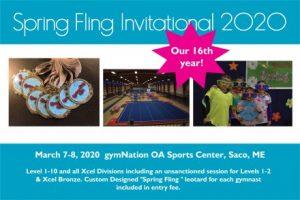 Spring Fling 2020 @ OA Sports Center | Saco | Maine | United States