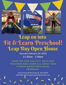 Leap Day Open House @ gymNation Kennebunk | Kennebunk | Maine | United States
