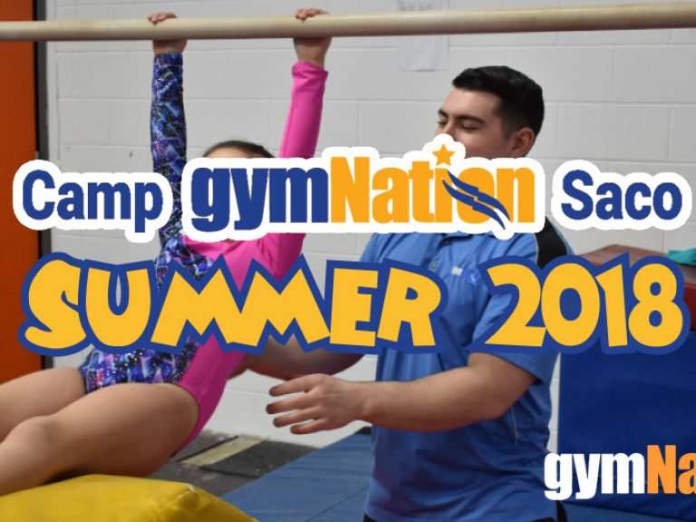Saco Camp GymNation Summer 2018